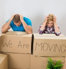 Moving house can be a huge stressor