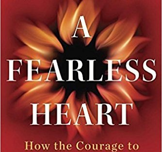 Book cover: A Fearless Heart by Thupten Jinpa