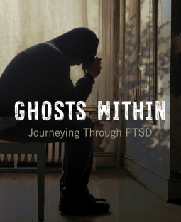 Book cover: Ghosts Within: Journeying Through PTSD by Garry Leech