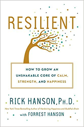 Book cover: Resilient by Rick Hanson