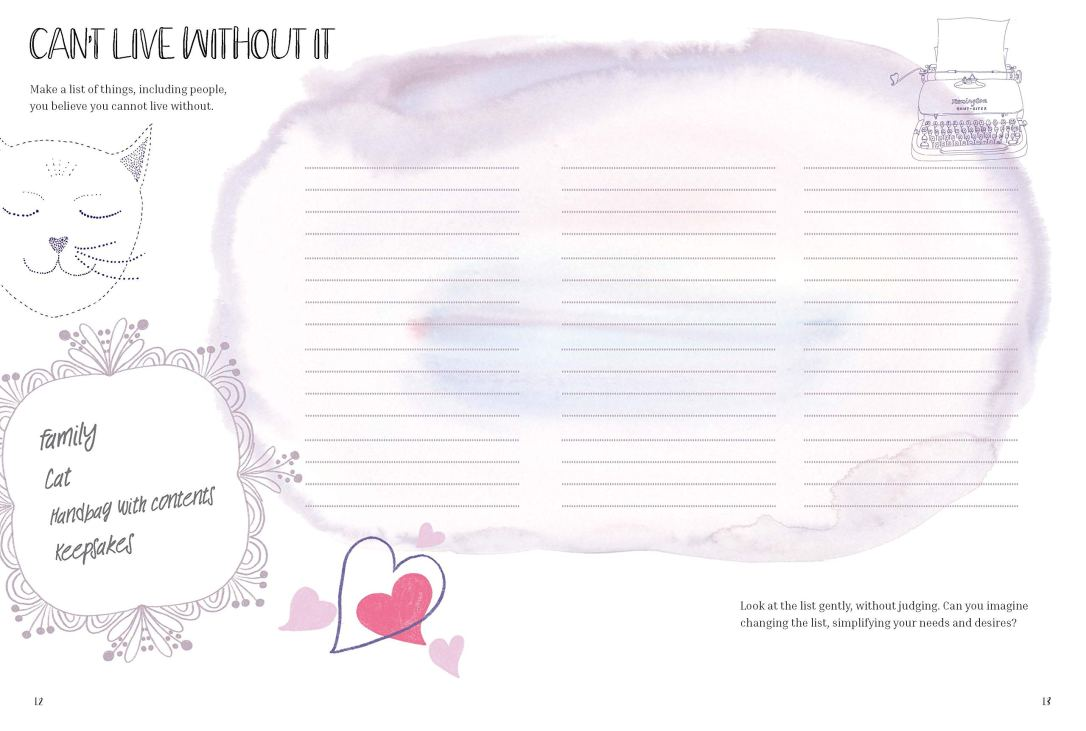 page from The Happiness Diary