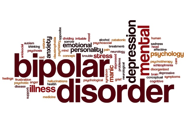 bipolar disorder word graphic