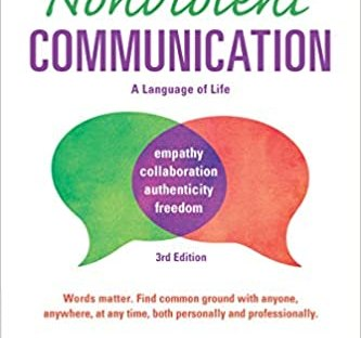 Book cover: Nonviolent Communication by Marshall Rosenberg