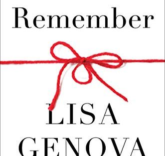 book cover: Remember by Lisa Genova