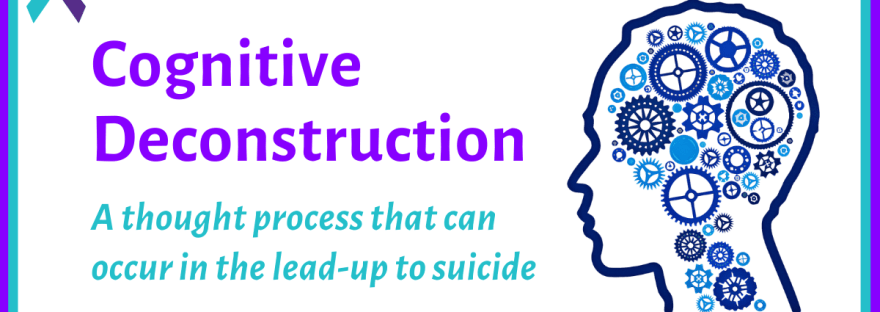 Cognitive deconstruction: a thought process that can occur in the lead-up to suicide