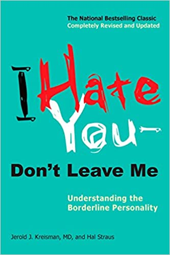 Book cover: I Hate You – Don't Leave Me
