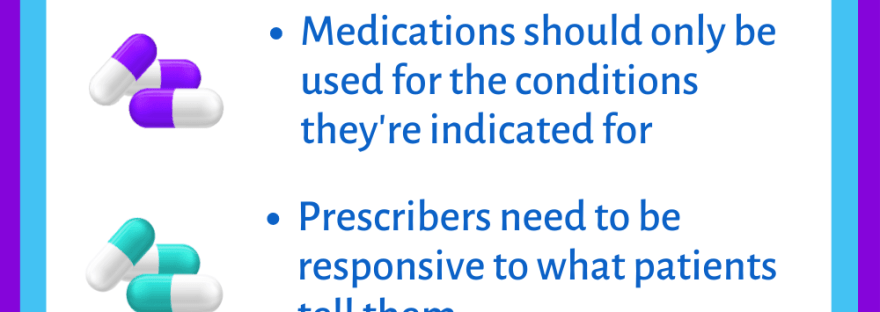 Key elements of my version of being pro-psychiatric medication