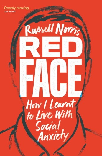 Book cover: Red Face by Russell Norris