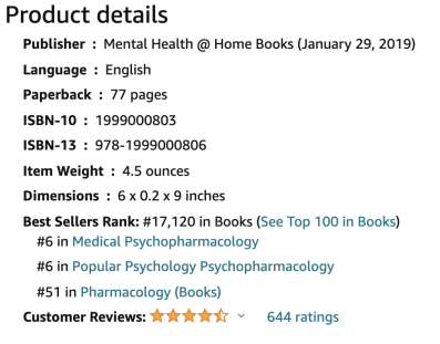 Psych Meds Made Simple Amazon reviews