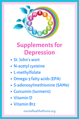 Supplements that help with depression