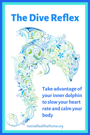 The dive reflex: Take advantage of your inner dolphin to slow your heart rate