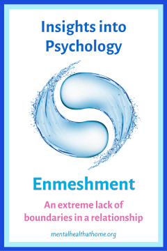 Insights into psychology: Enmeshment: An extreme lack of boundaries in a relationship