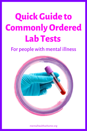 Quick guide to common lab tests
