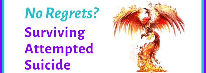No regrets? Surviving attempted suicide - image of phoenix