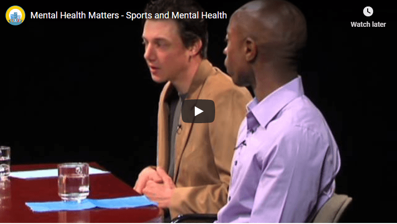 Mental Health and Sports