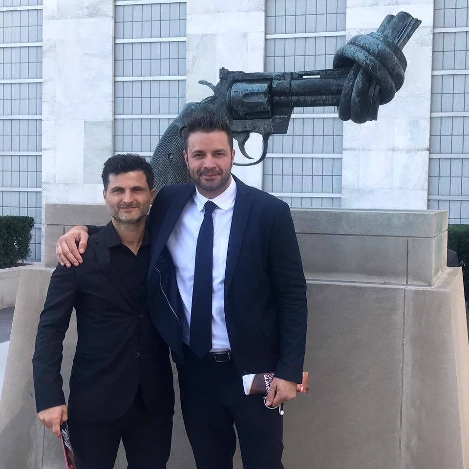 Filmmaker Raffaello DeGruttola (left).jpg