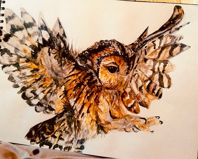 In Flight by Artist Jade Bryant