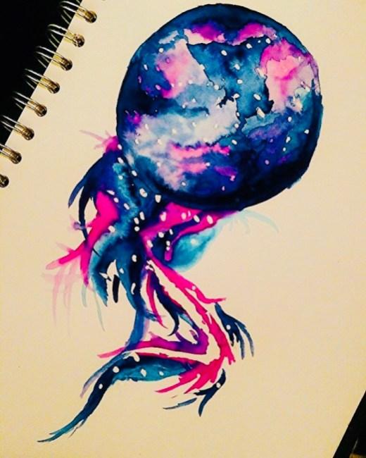 Space Doodle by Jade Bryant