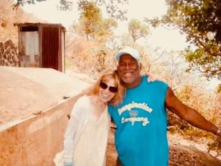 Creative Director Sadie Kaye and Brian Bhat - Haiti