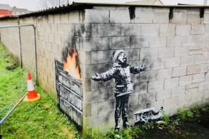 Bansky Inspires Art Dealer to Open Street Art Centre in Industrial Welsh Town