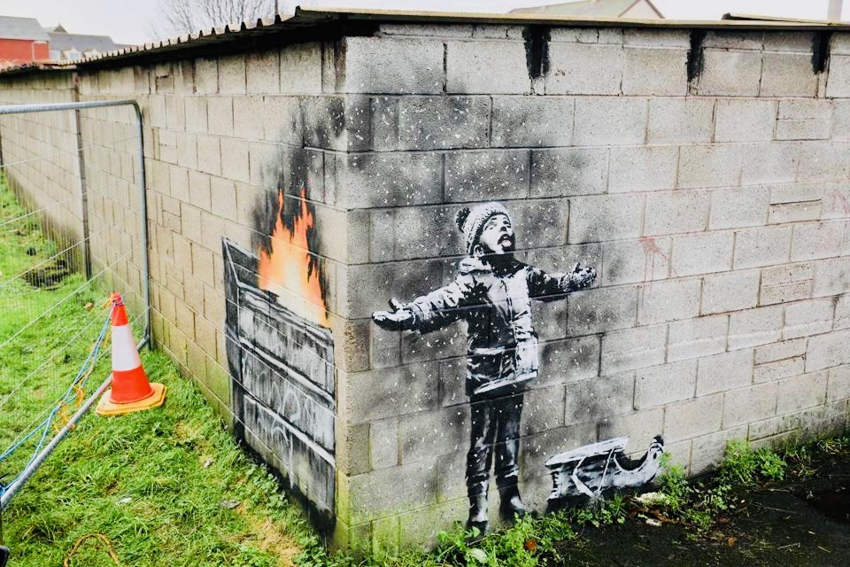 Bansky Inspires Art Dealer to Open Street Art Centre in Industrial Welsh Town