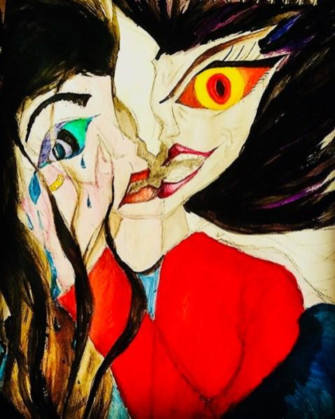 Grief by Jade Bryant - Inktober