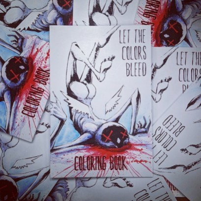 Let The Colors Bleed Shawn Coss