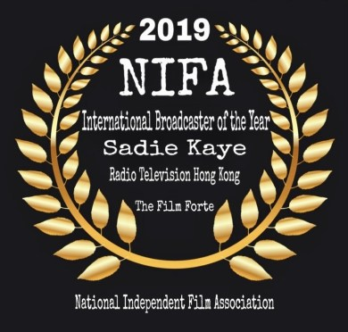 NIFA International Broadcaster of the Year - Sadie Kaye