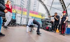 Param performs at Social Step Up