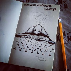 Shawn-Coss-Illustrated-Mental-Illnesses-And-Disorders-For-This-Inktober5-Copy