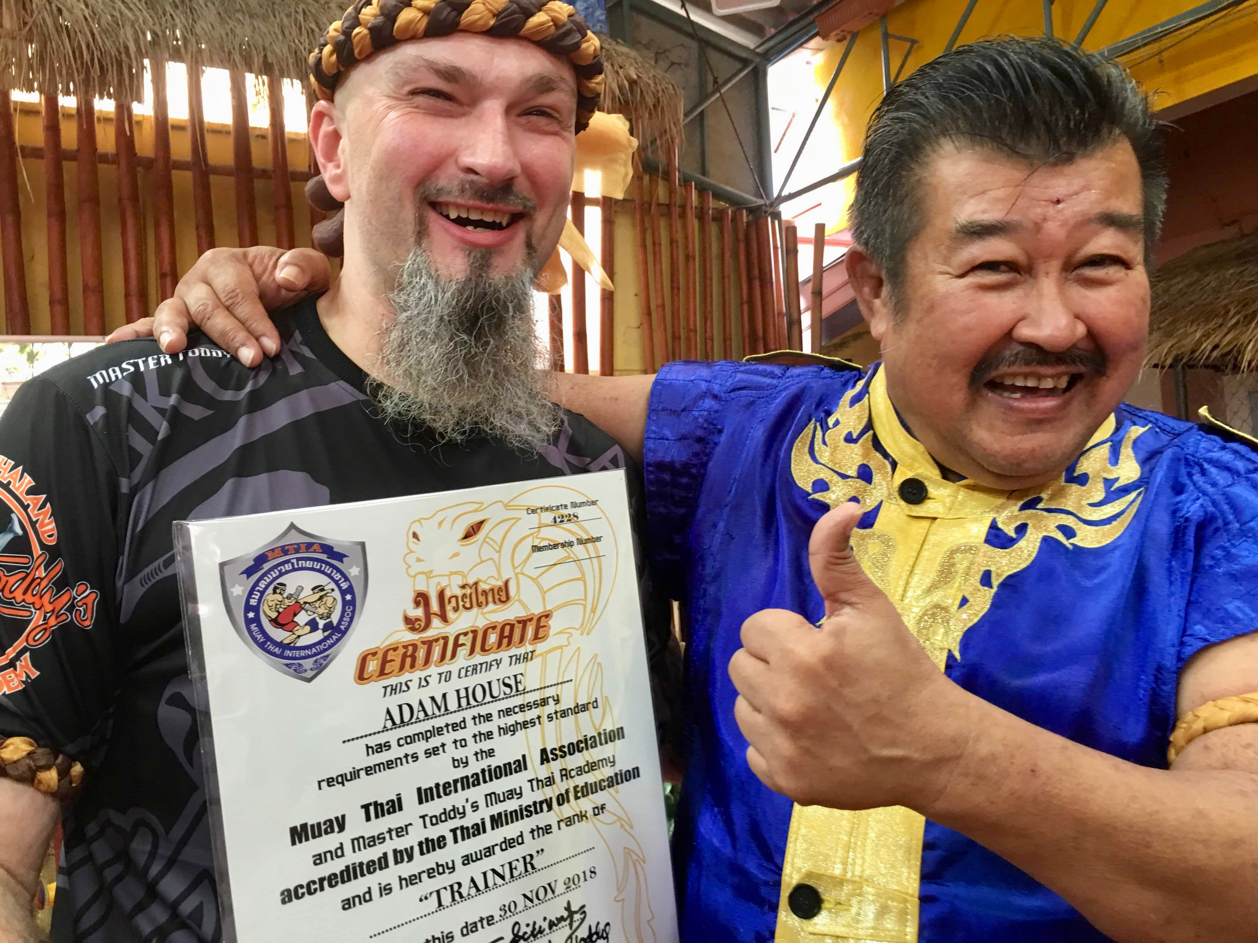 How Muay Thai Helped Me Fight My PTSD - Veteran Adam House