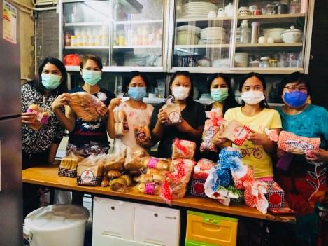 Happy Recipients of our Bread