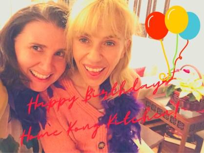 Amy & Sadie Celebrate Home Kong Kitchen's 1st Birthday!-2