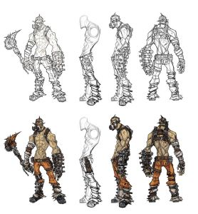 Krieg the Psycho Concept Art