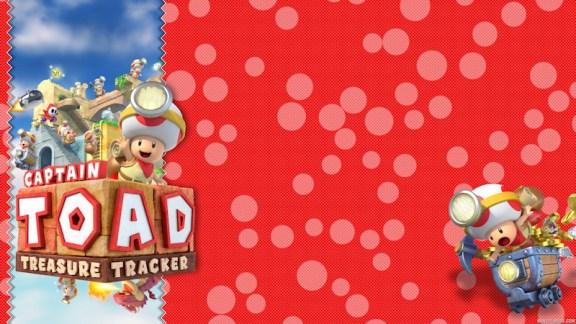 Captain Toad Treasure Tracker Wallpaper