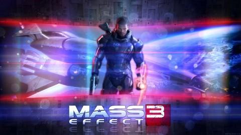 Mass Effect Wallpaper - Male Shepard