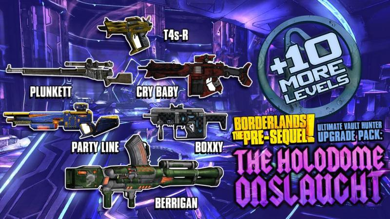 Borderlands the Pre-Sequel Onslaught Loot