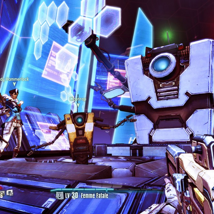 borderlands claptastic voyage - Screenshot marigold hud