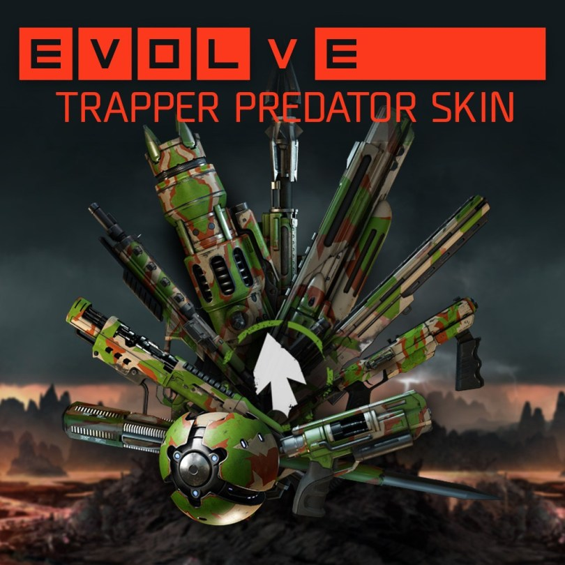 Evolve trapper challenge reward