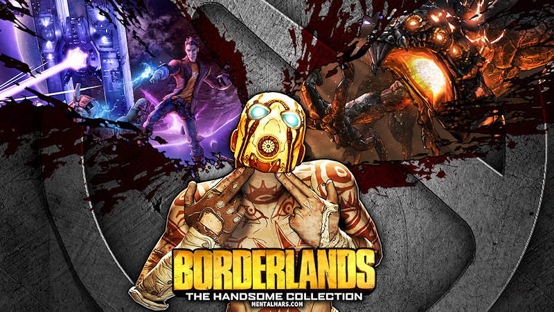 Borderlands Handsome Collection Wallpaper