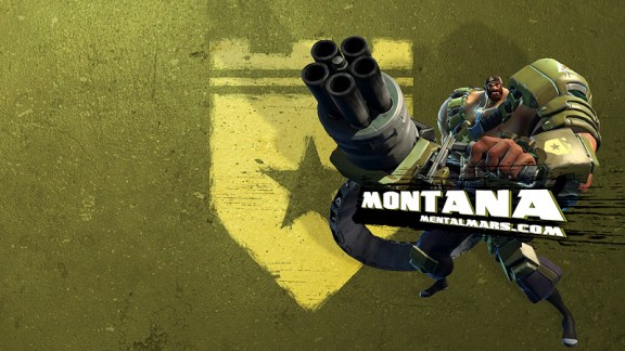 Battleborn Wallpaper - Montana