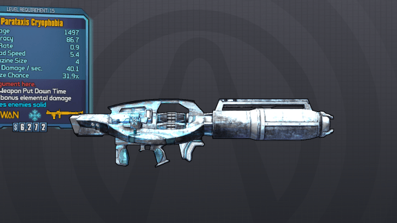 BLTPS Legendary Rocket Launcher - Cryophobia