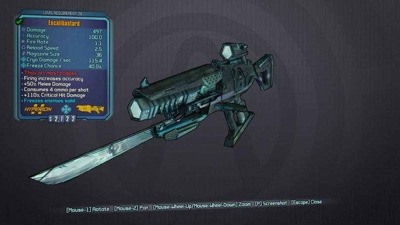 BLTPS Legendary Laser - Excalibastard