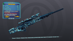 Invader - Borderlands Legendary Sniper