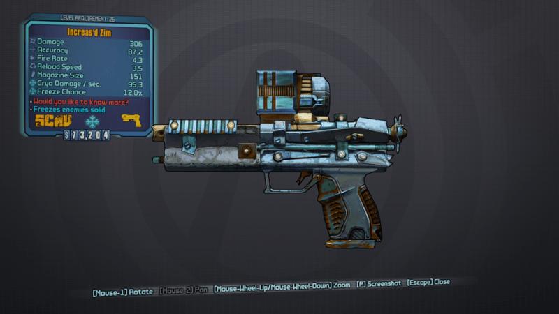 BLTPS Legendary Pistol - Zim