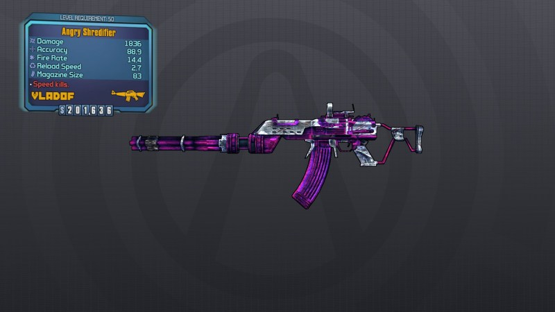 borderlands the pre-sequel how to get shredifier legendary assault rifle