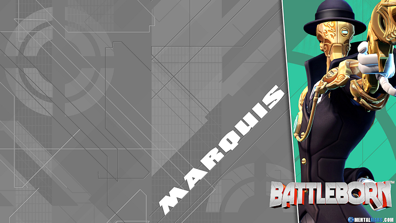 Battleborn Blade Wallpaper - Marquis