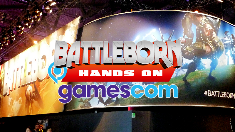 Battleborn Hands on Gamescom
