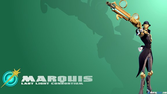 Battleborn Cool Wallpaper Marquis