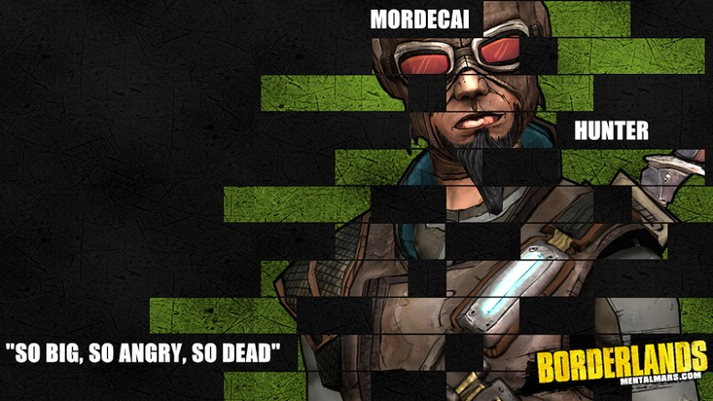Borderlands Legacy Wallpaper - Mordecai